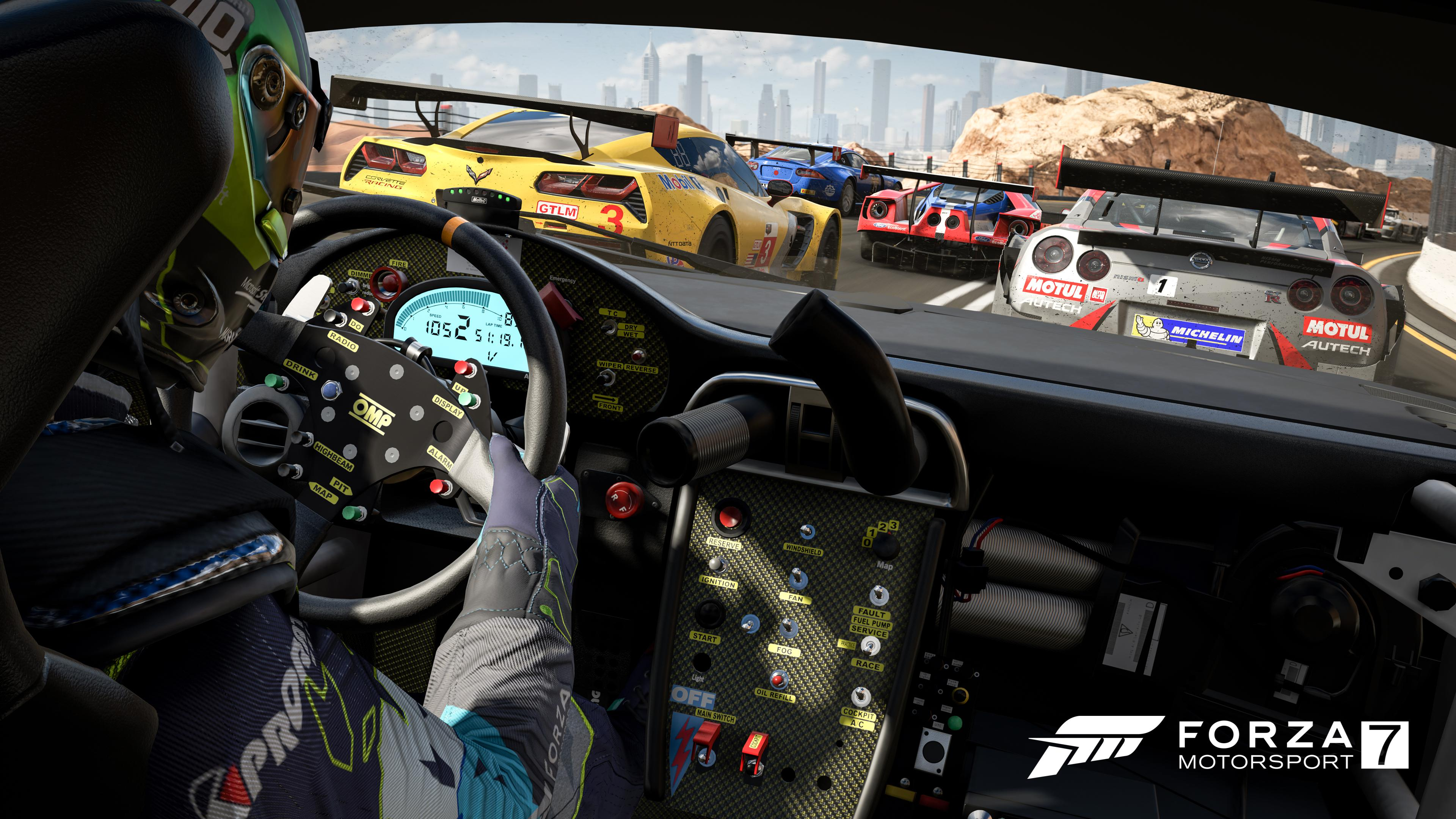 Forza 7 is one of the few games that really shows off the X's graphical muscle