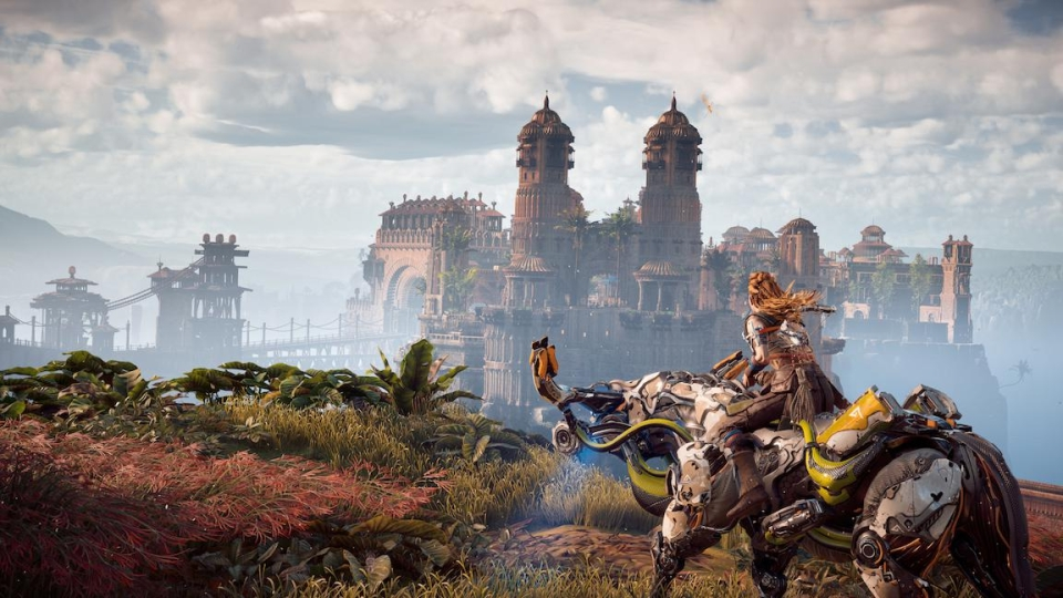 Horizon Zero Dawn is easily one of the best looking games ever made