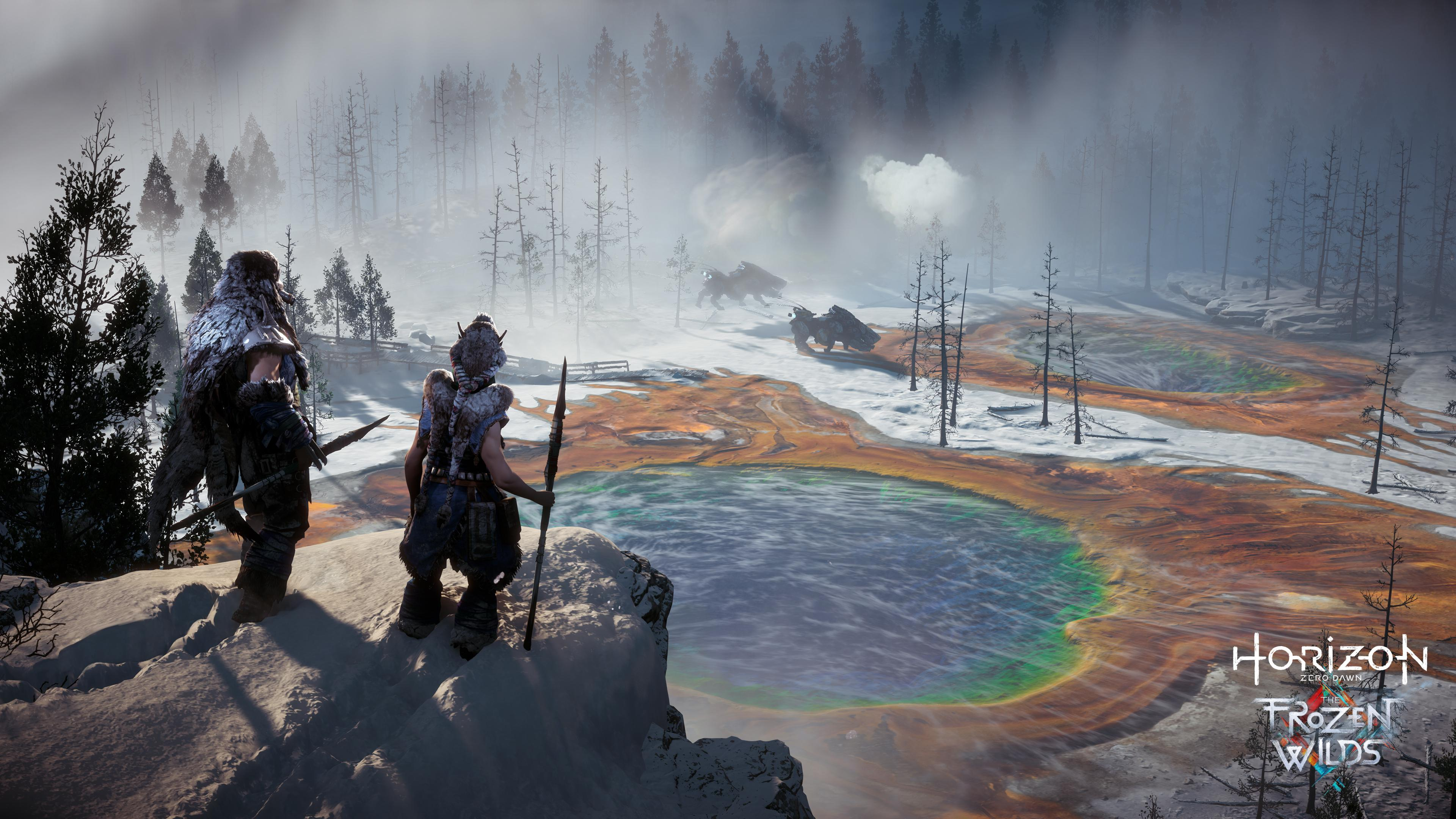 The Frozen Wilds DLC adds an even more hostile environment to the game