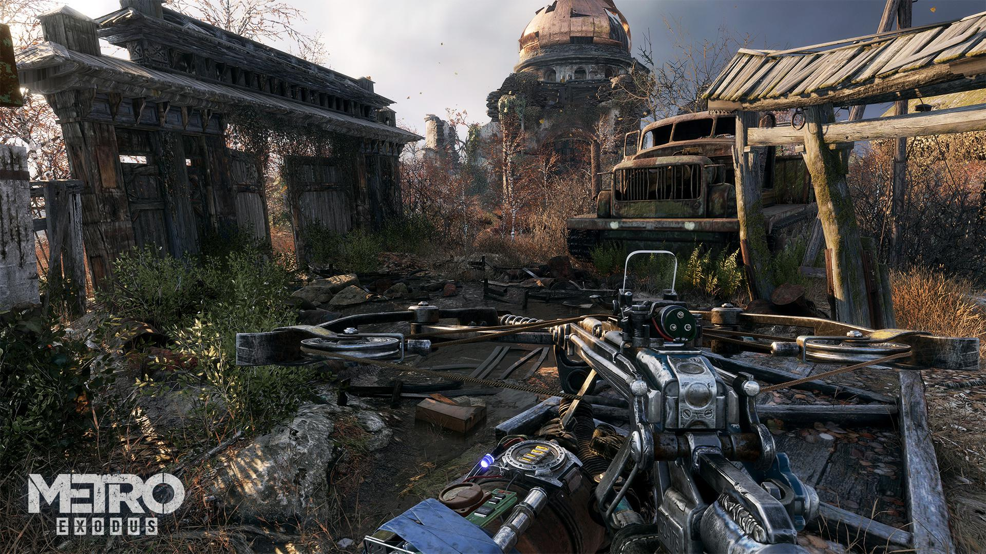 Metro Exodus will be one the year's best looking games