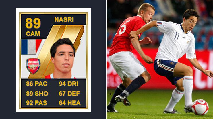 How times have changed for Samir Nasri…