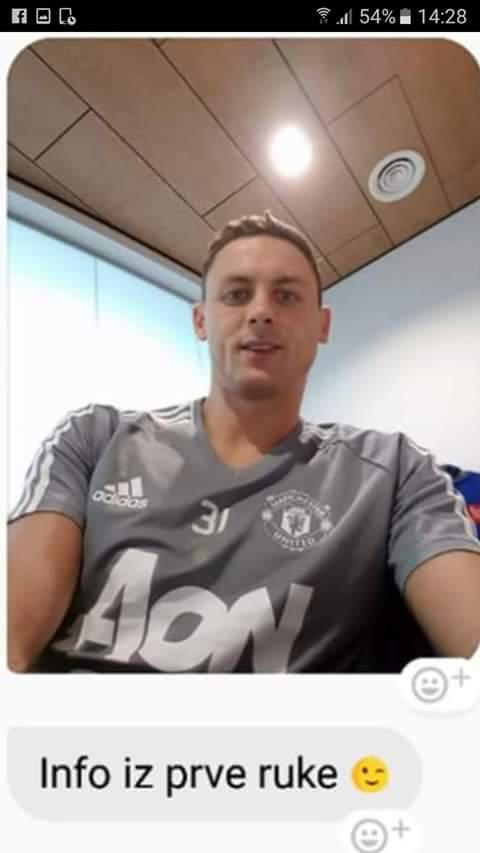 sale retailer ff8c1 384a5 LEAKED: Nemanja Matic 'pictured in Man United shirt' for the ...