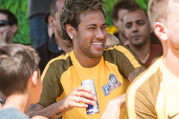 Neymar was speaking at the Neymar Jr's Fives, hosted by Red Bull