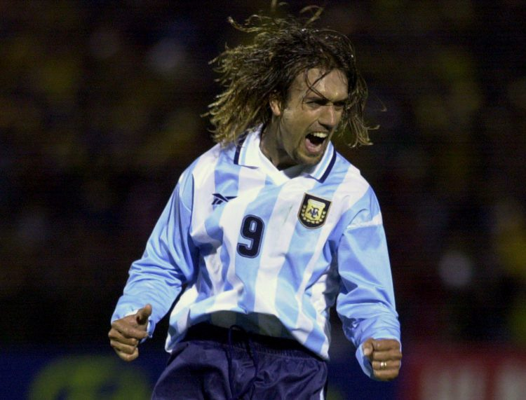 He was the all-time top goalscorer for Argentina before Lionel Messi broke the record this summer