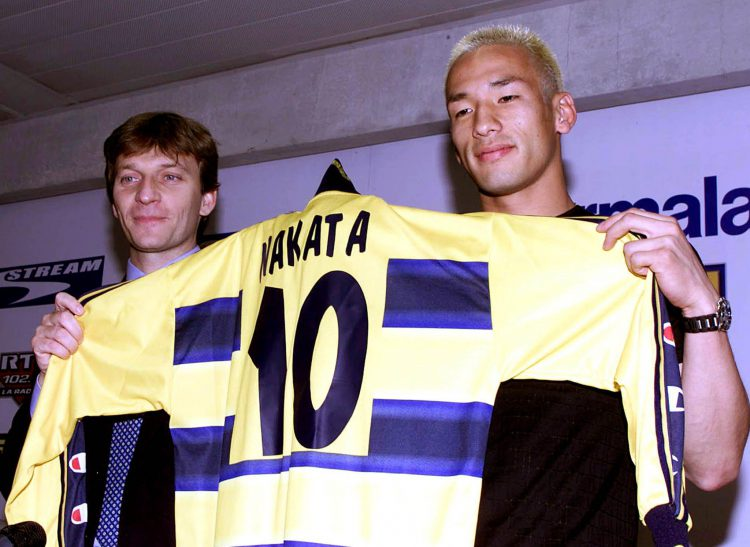 Seriously though, Nakata was a PLAYER