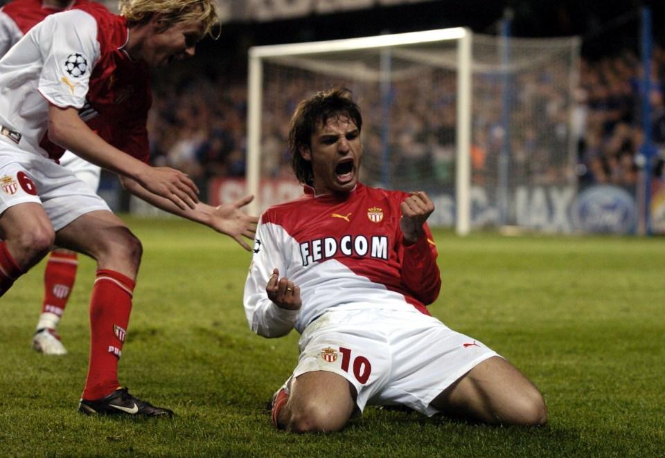 Morientes was lethal for Monaco