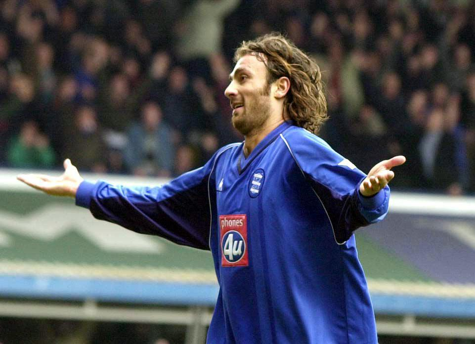 Dugarry became a cult hero at Birmingham