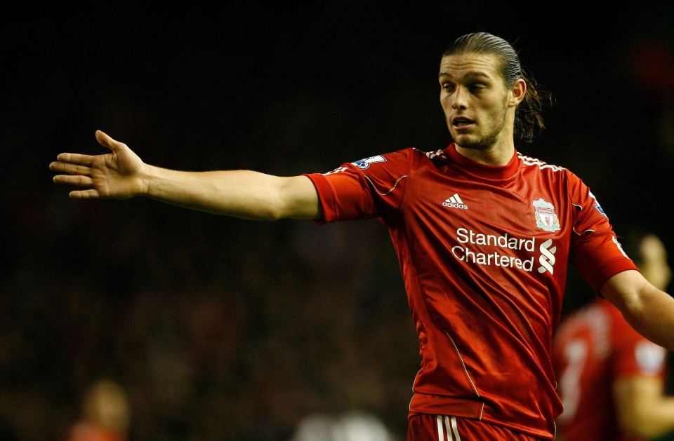 Andy Carroll seriously struggled at Liverpool after making mega-money move