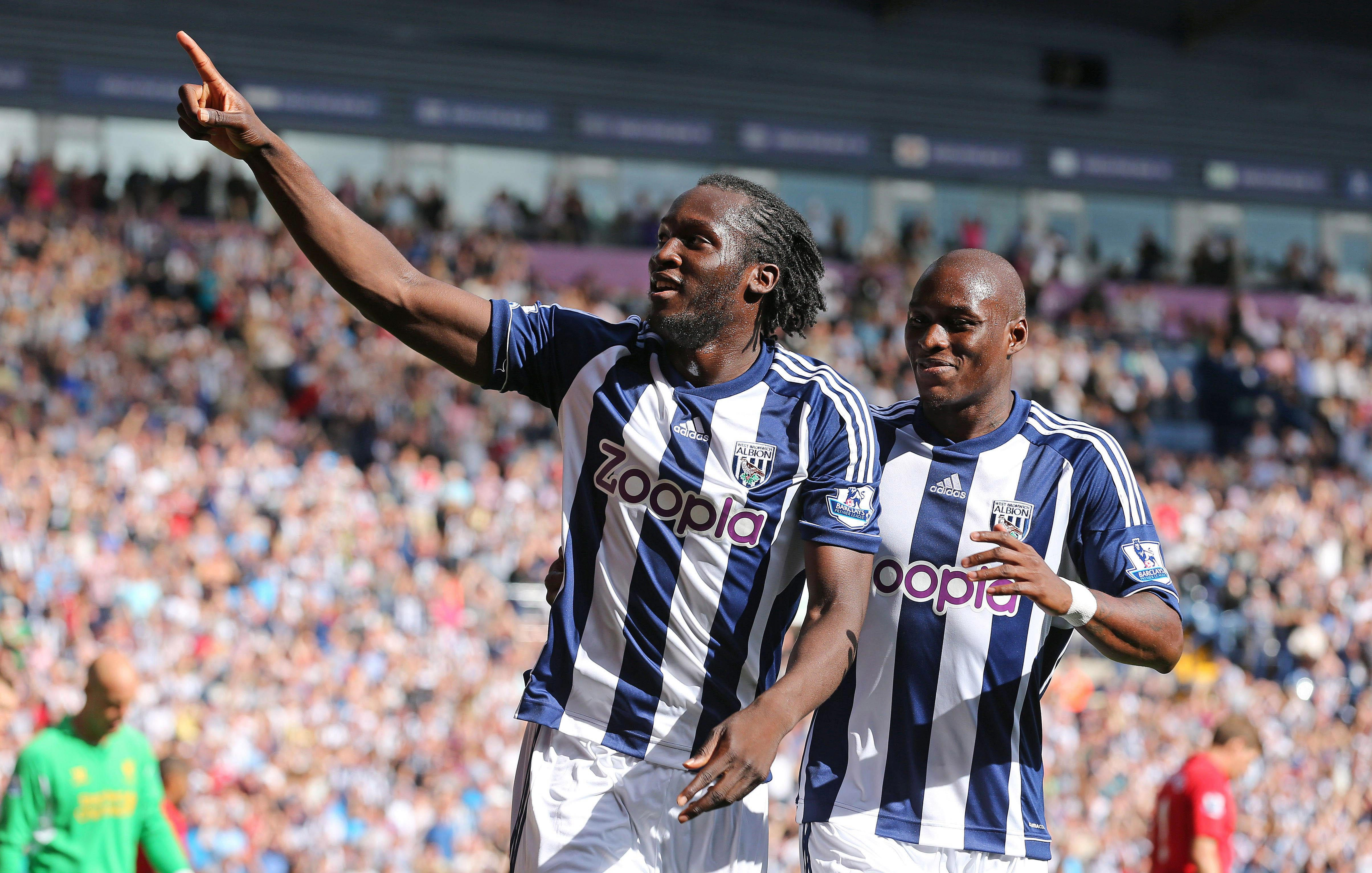 West Brom gave Lukaku his first chance in English football