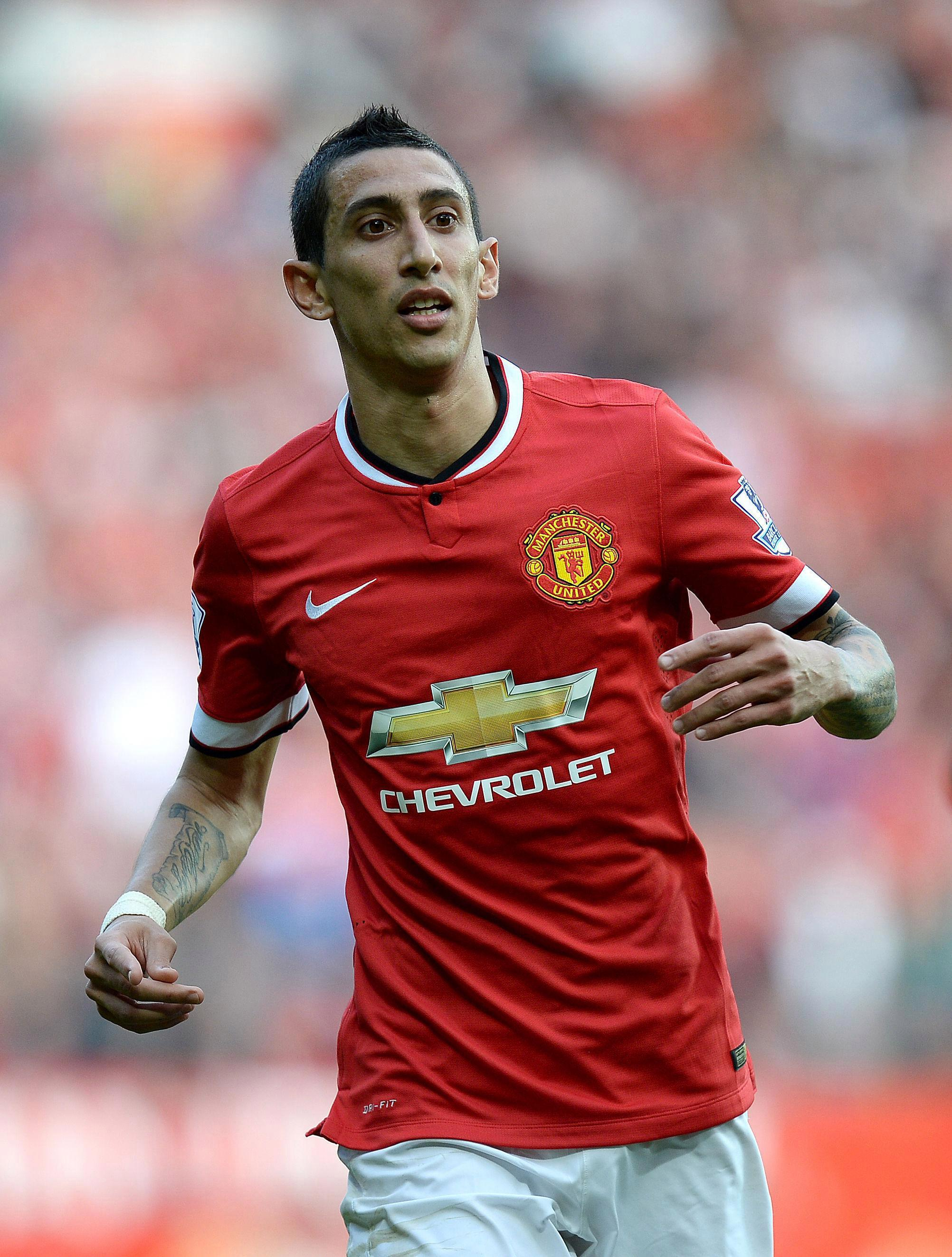 Angel Di Maria proved a massive flop at Old Trafford under Louis van Gaal after joining United for £59.7m before being sold a year later