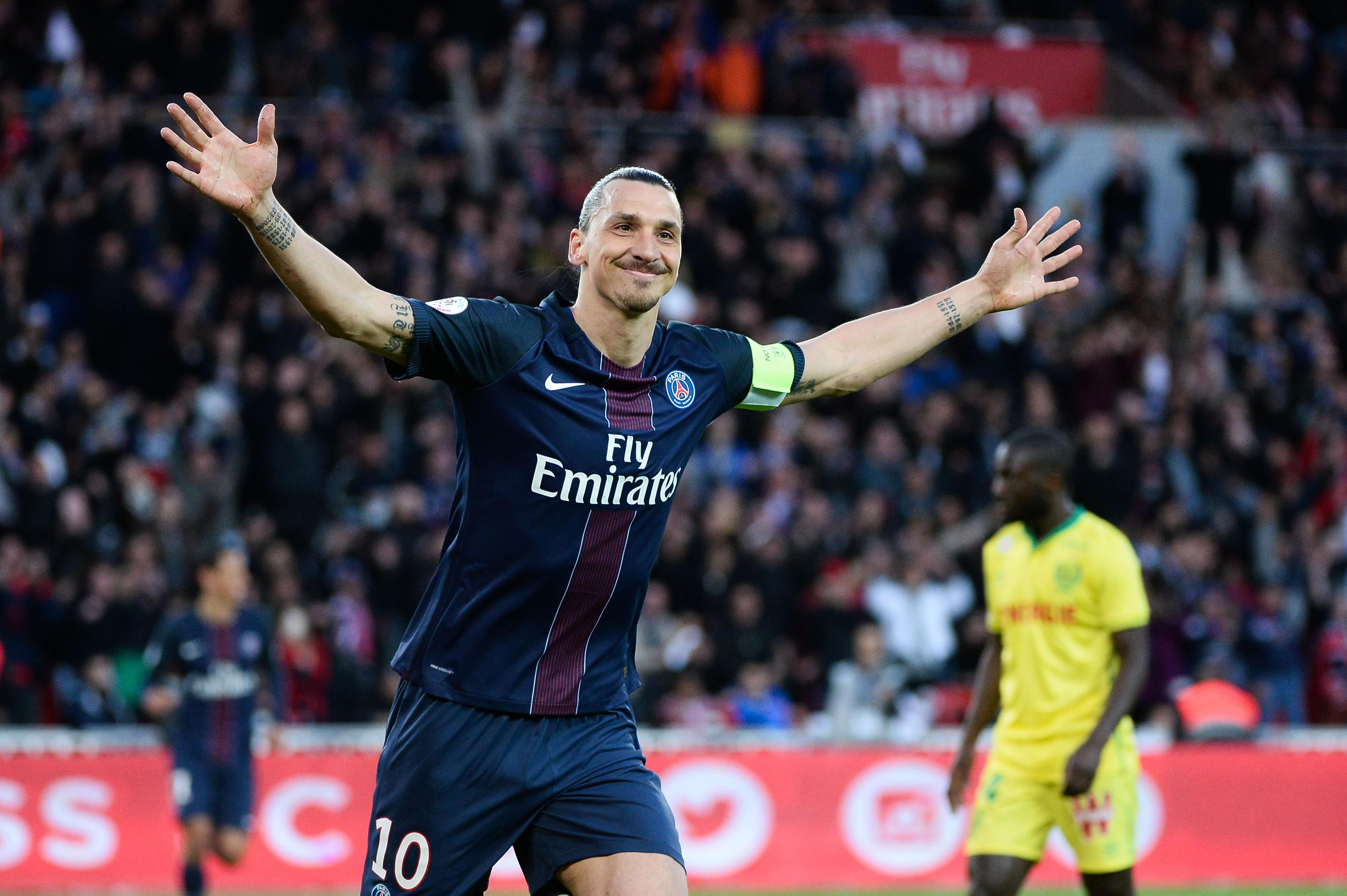 Serge Aurier mocked Zlatan Ibrahimovic during a public Q&A on Periscope