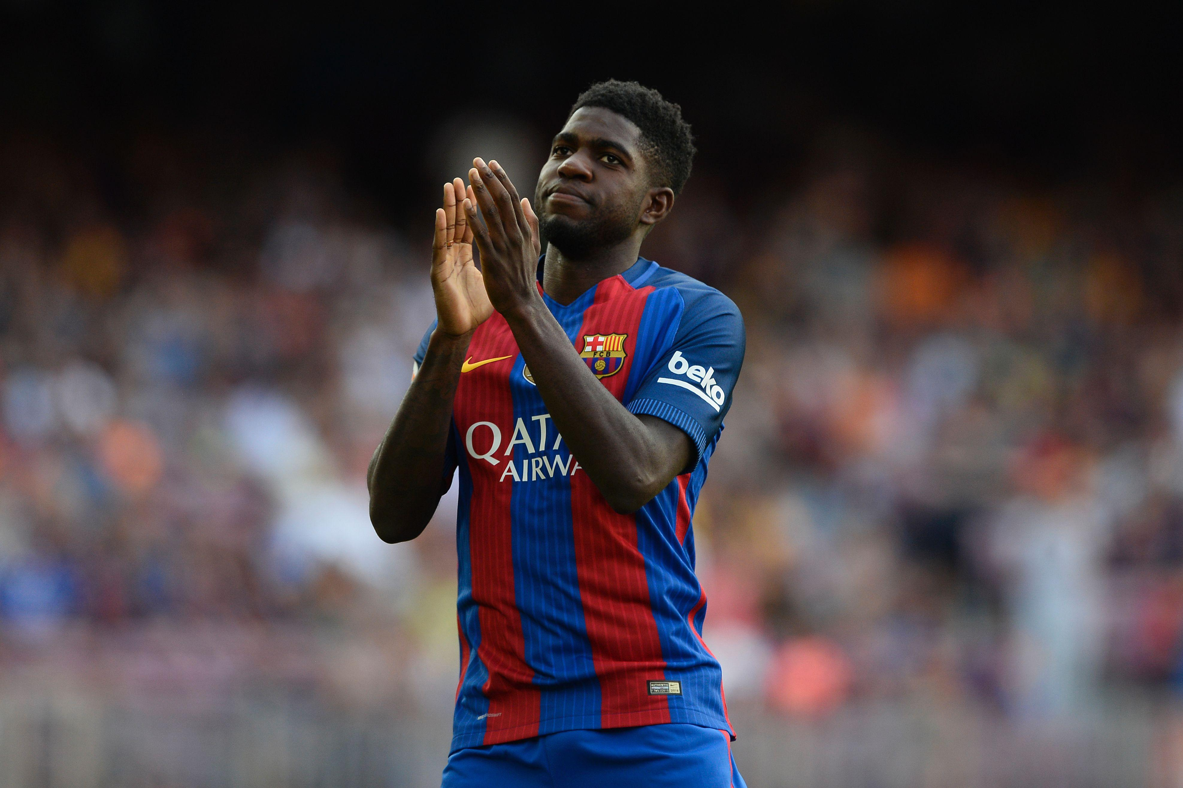 Umtiti is the only one of Barcelona's main four centre-backs under the age of 30