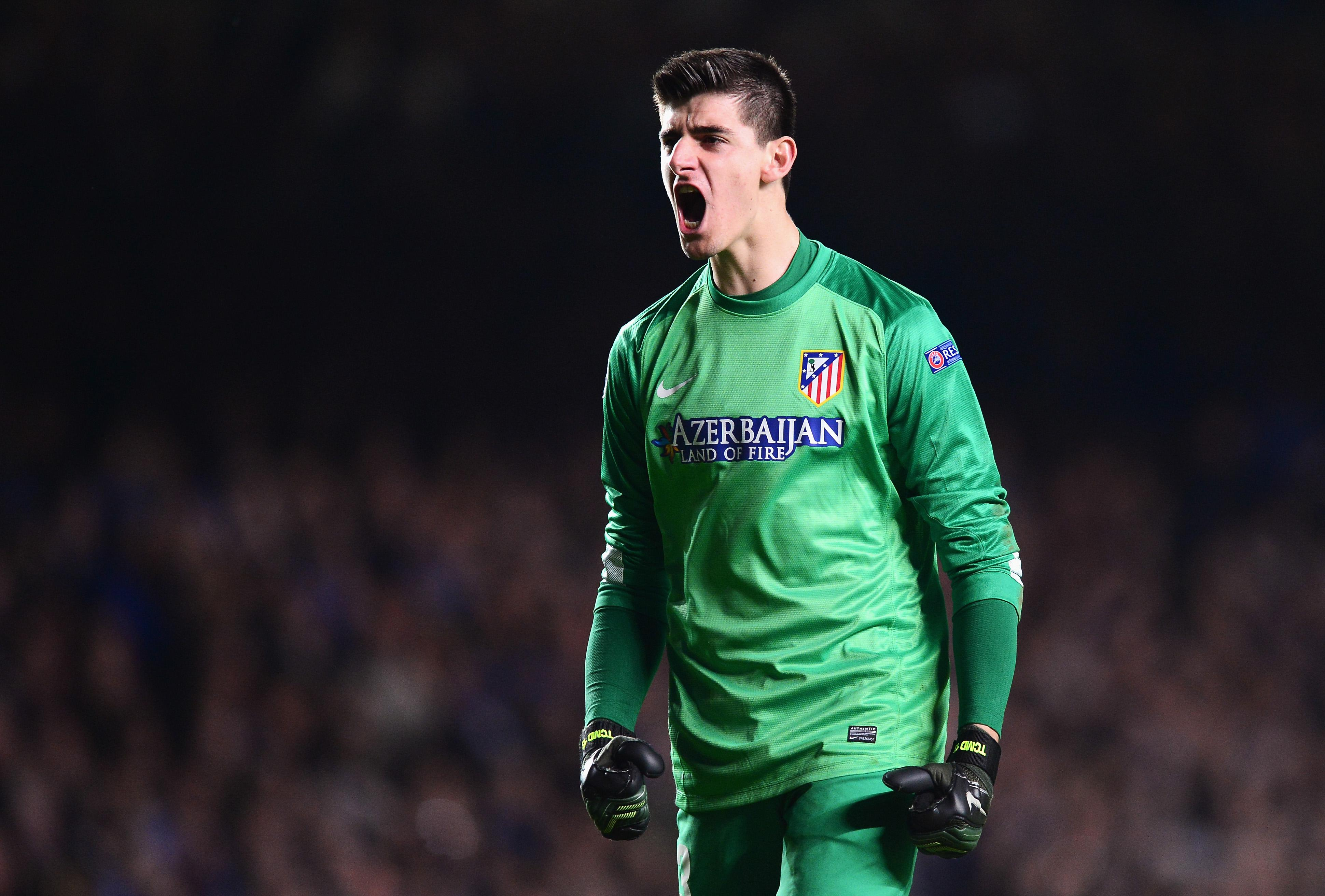 Courtois was a rock for Atletico