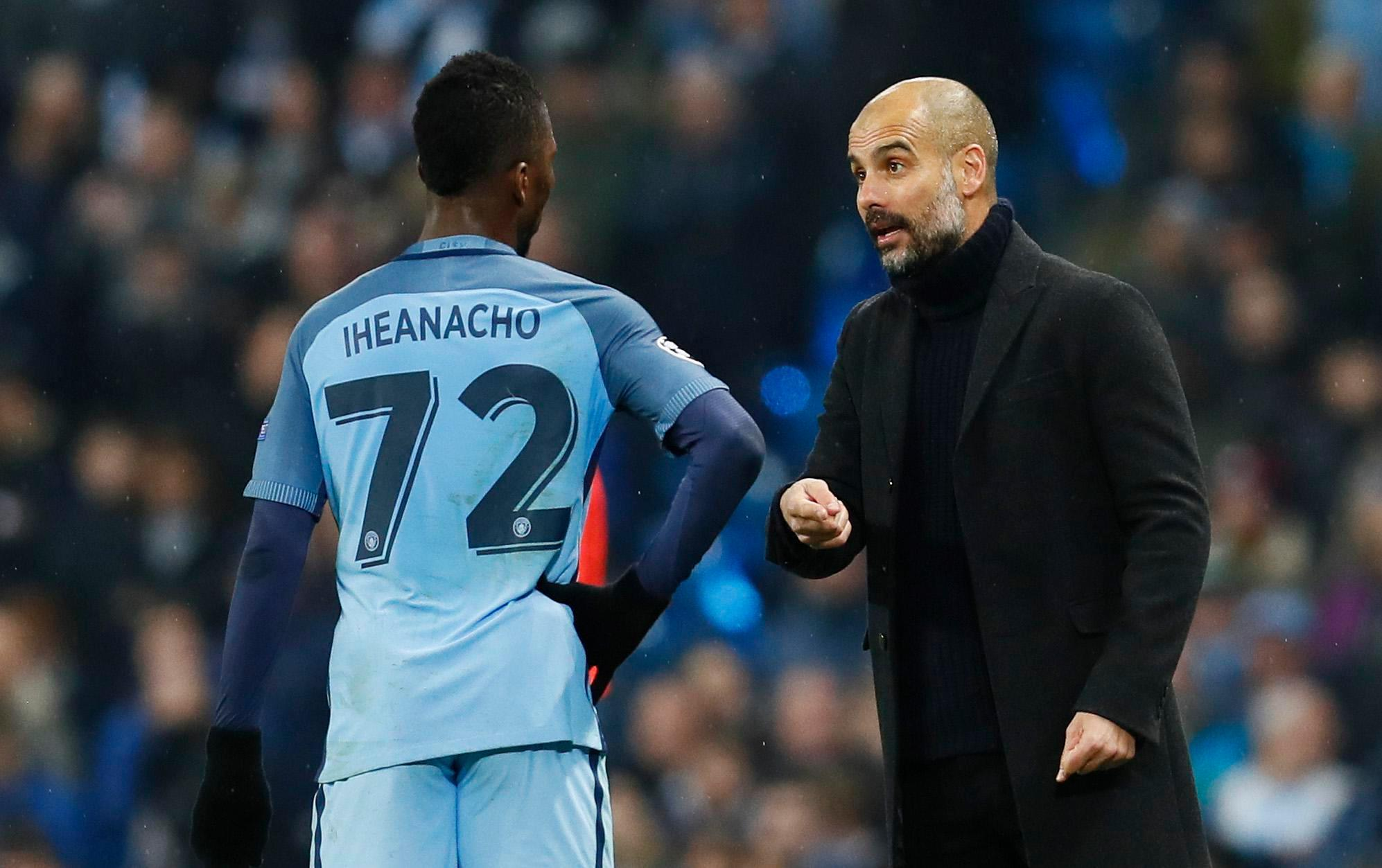 Kelechi Iheanacho was the only City youth product to feature last season