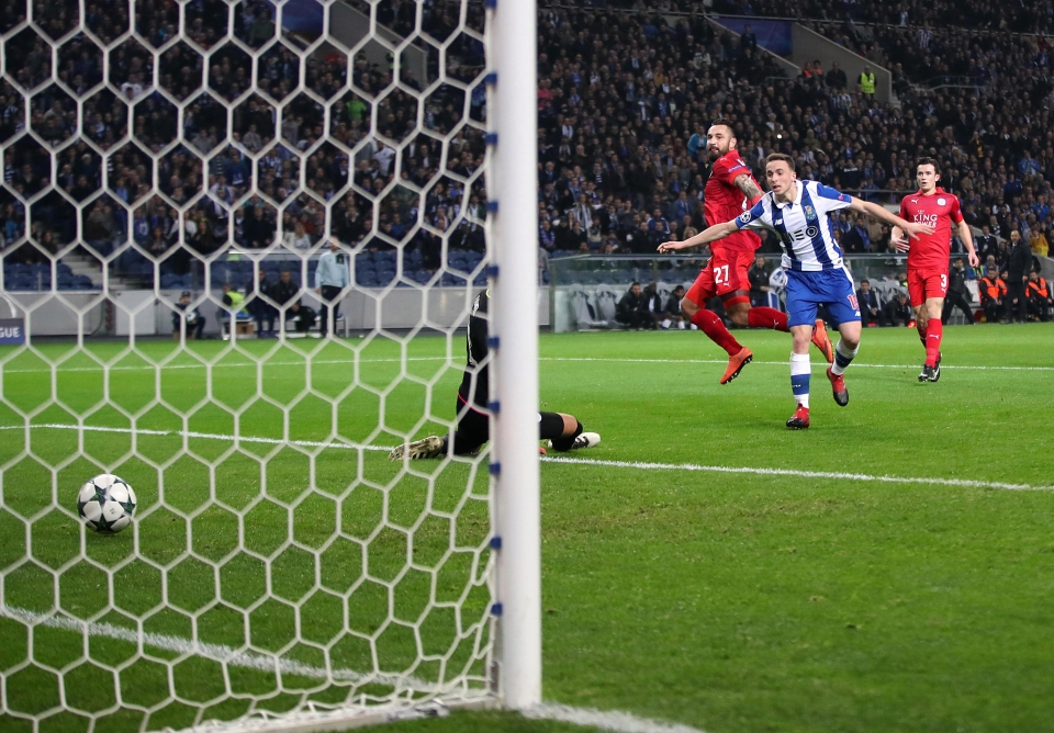 Porto demolished Leicester in the group stages last season
