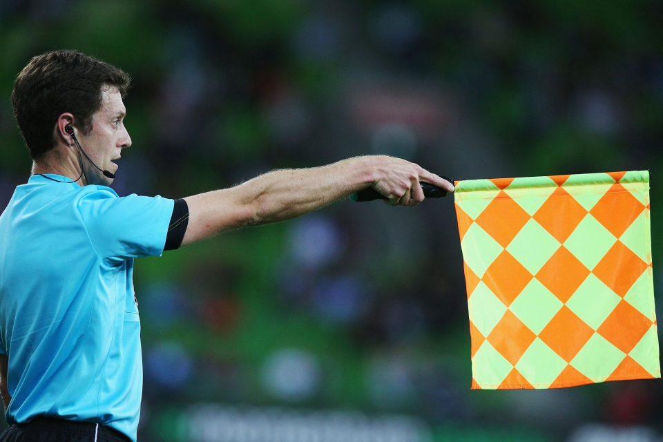Not you linesman, nobody likes you