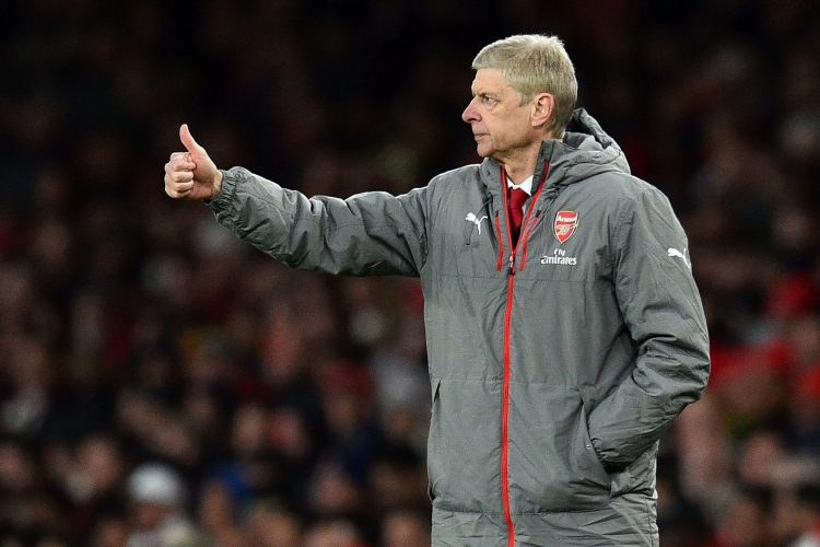Wenger's happy, at least