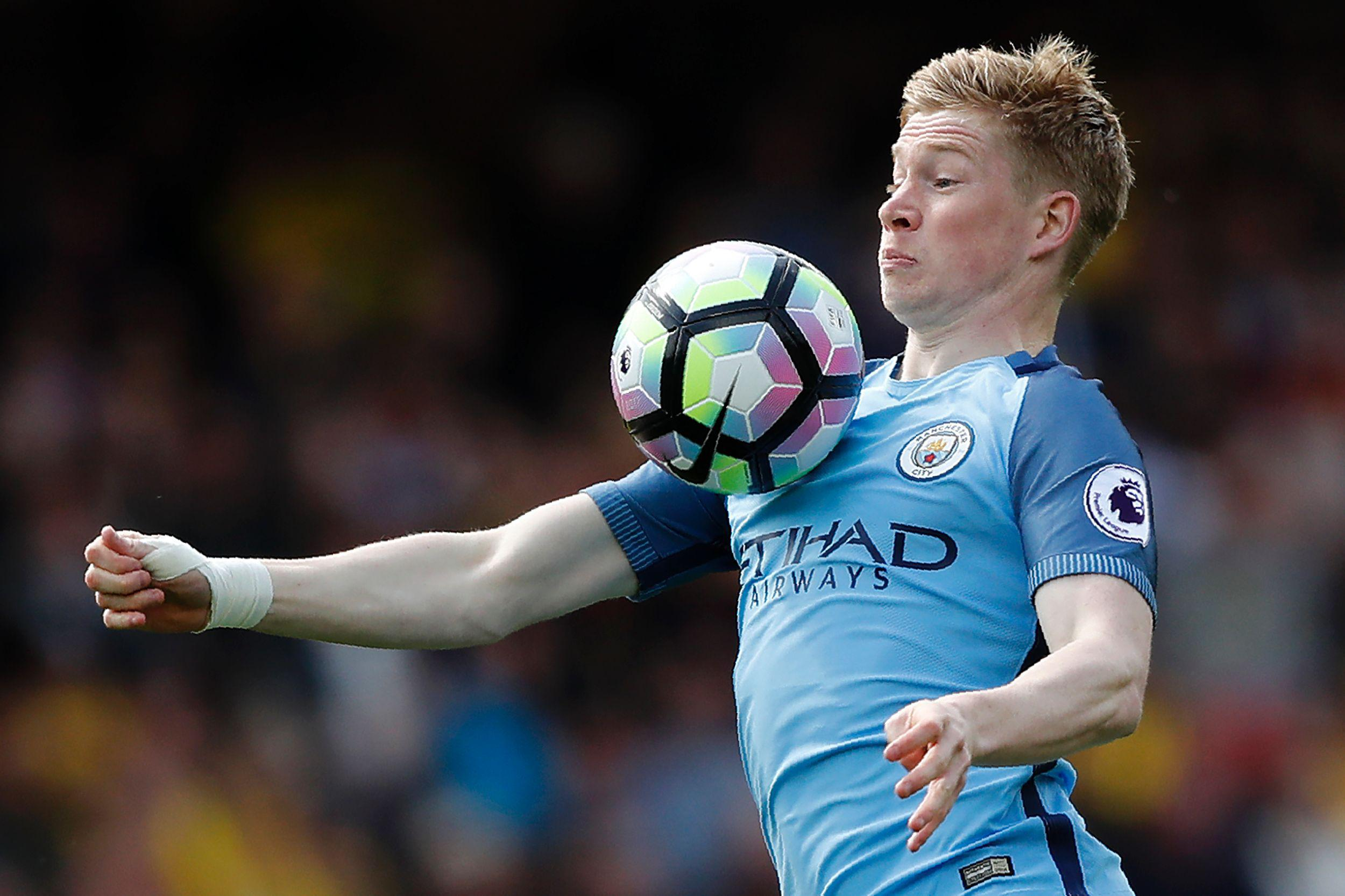 Kevin de Bruyne celebrated tying the knot in style