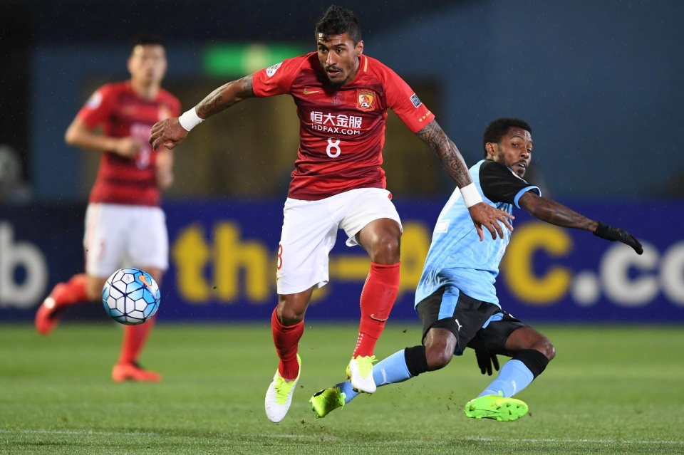 Here he is playing for everyone's favourite club Guangzhou Evergrande
