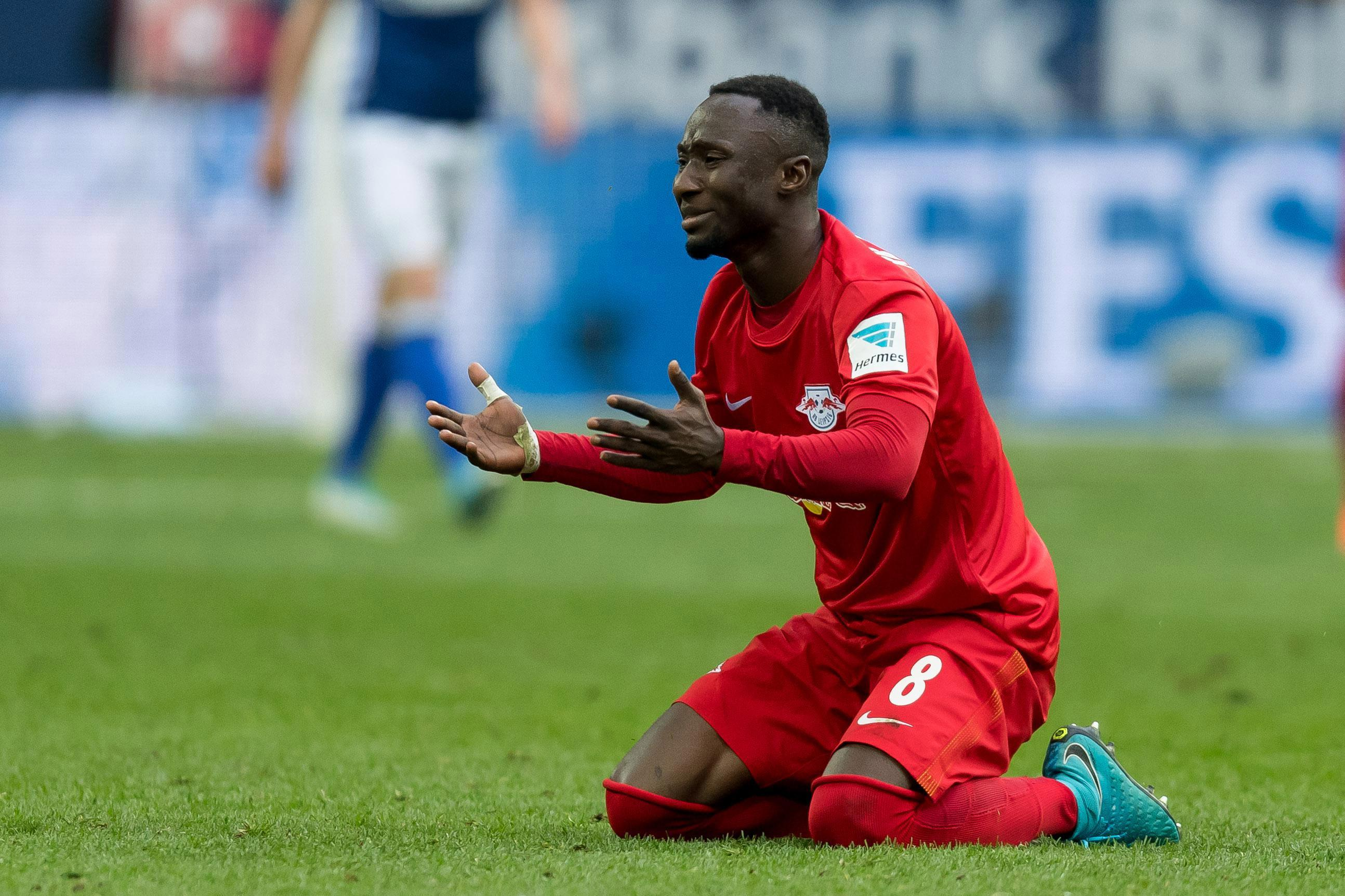 Keita clearly isn't happy at Leipzig