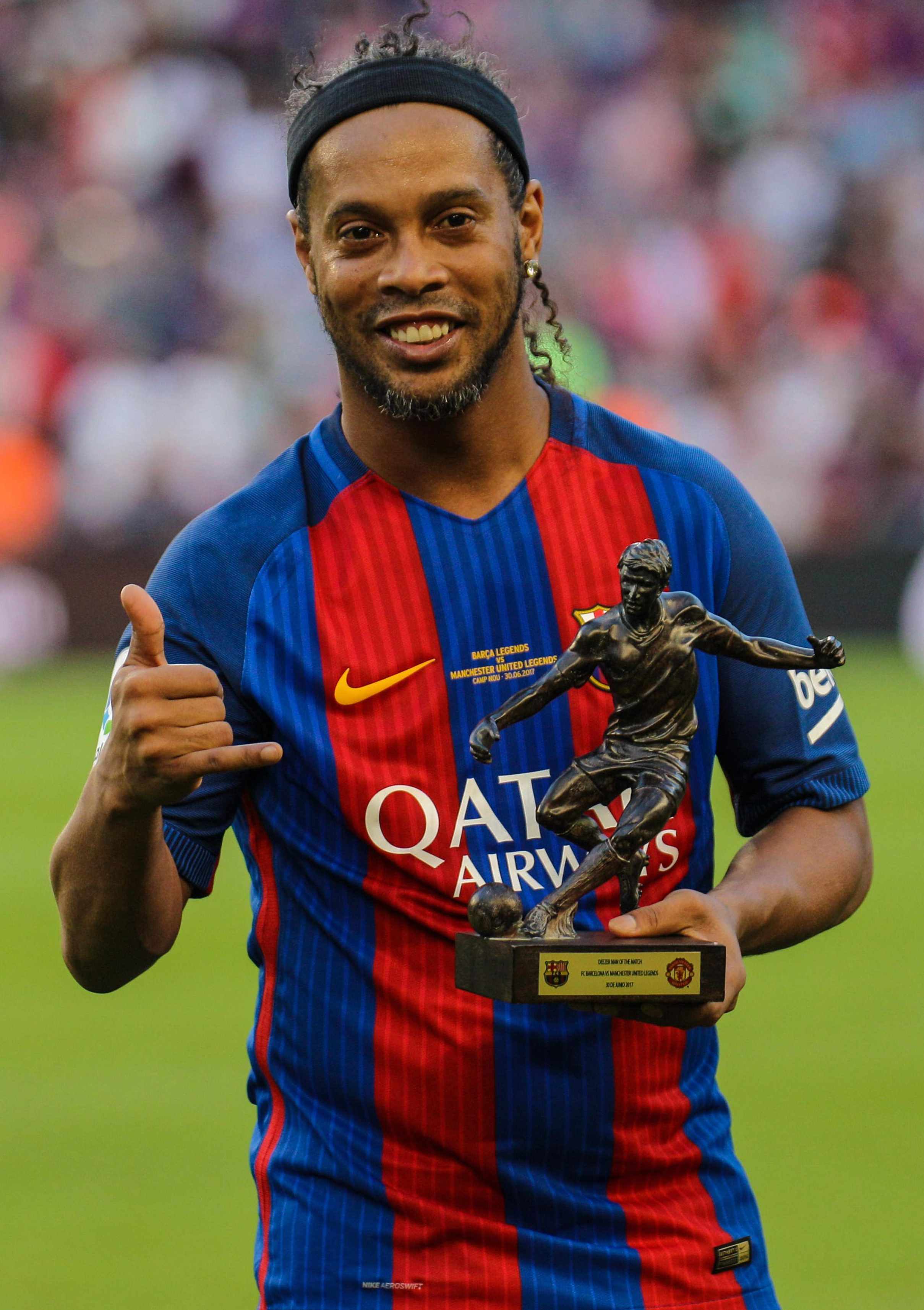 We have no doubt he placed this award alongside his Ballon d'Or