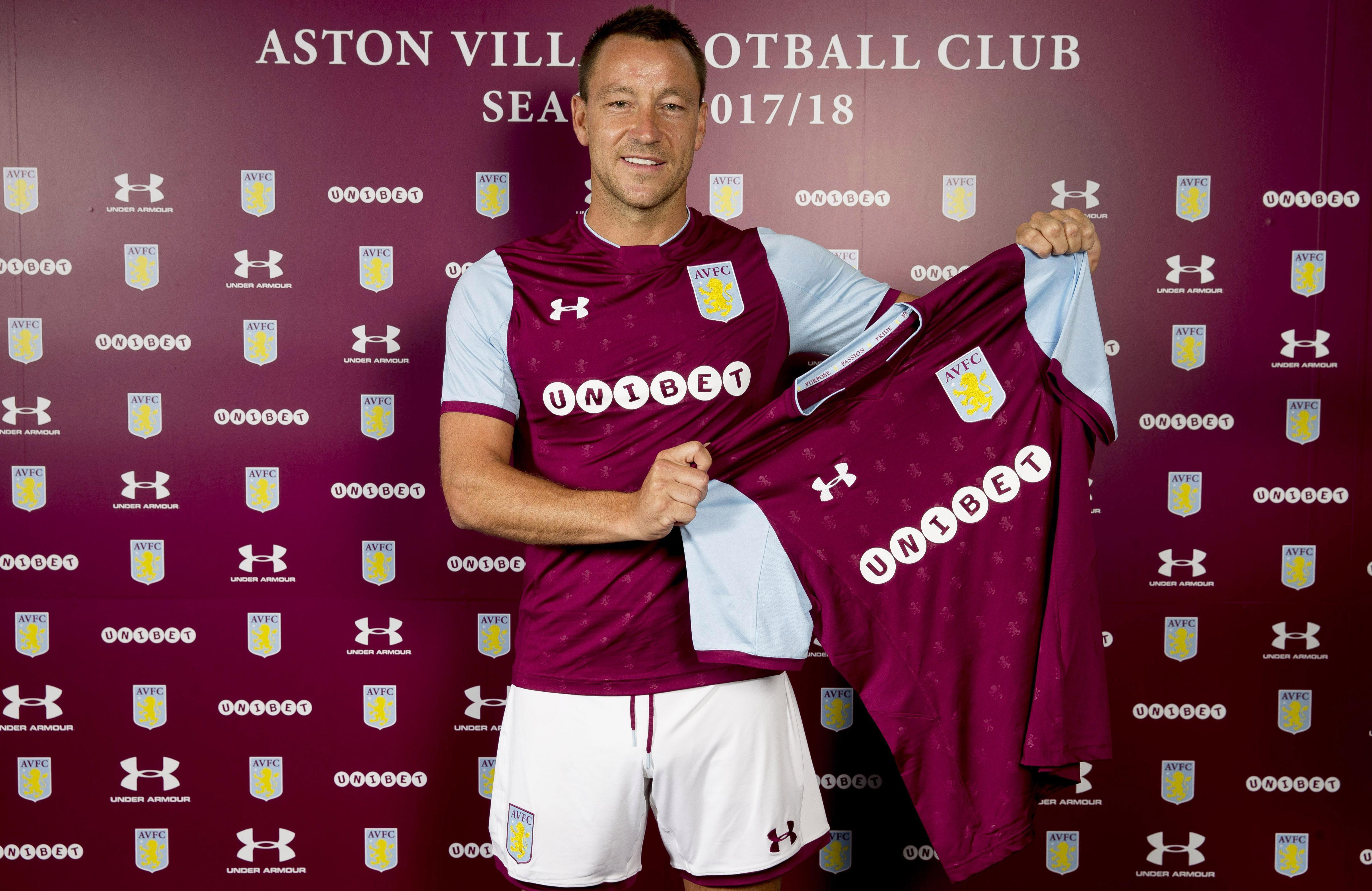 Terry has recently recoupled with Aston Villa after ditching long-time partner Chelsea