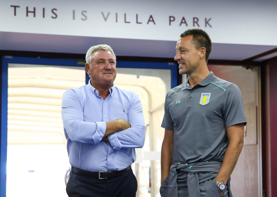 Steve Bruce admitted he would rather have had John Terry ten years ago... but is sure he will pay off at 36-years-old