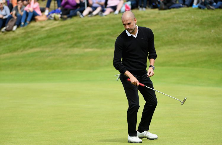 You see a golf course, Pep sees a new formation