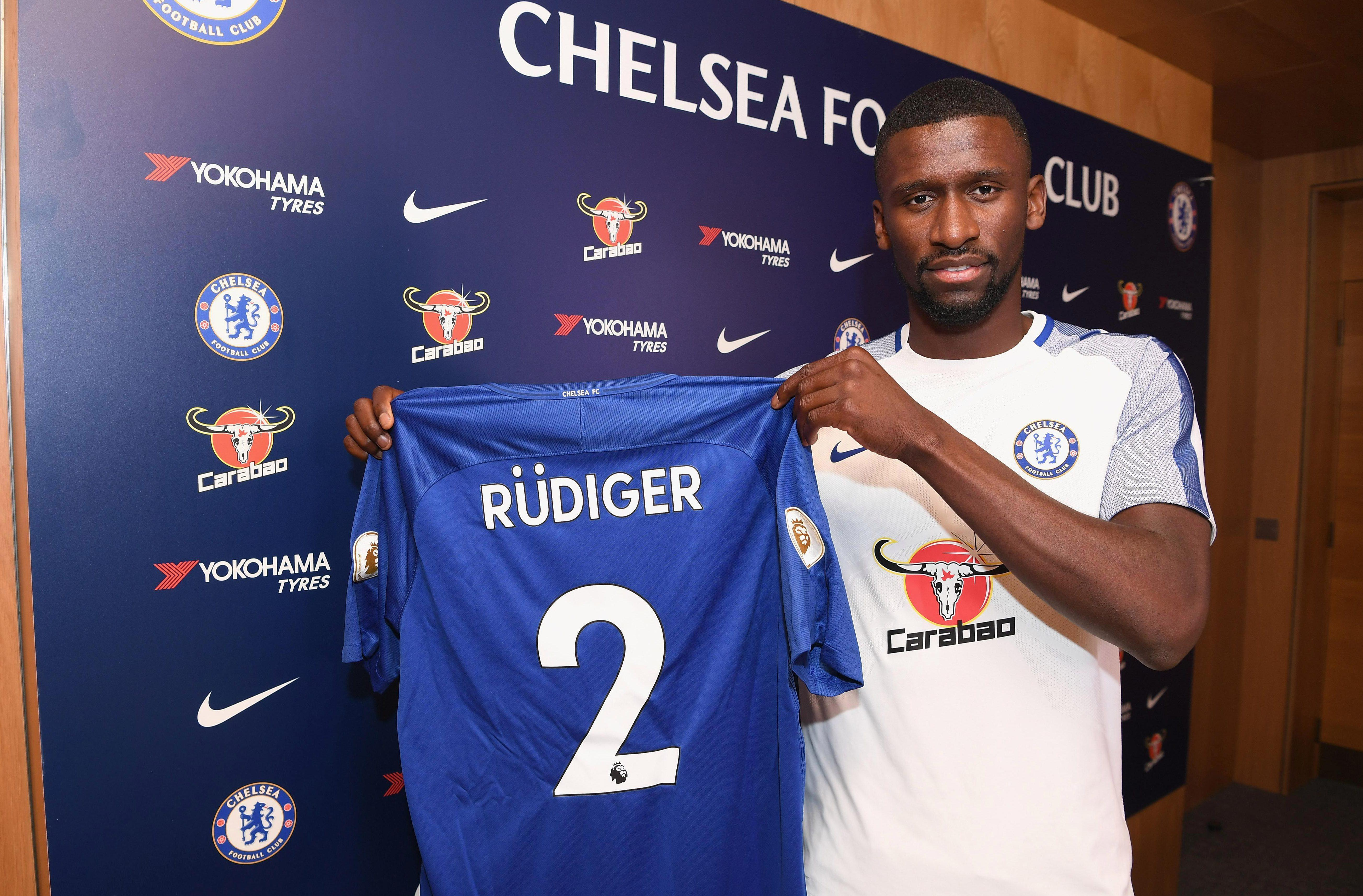 Antonio Rudiger joined Chelsea from Roma