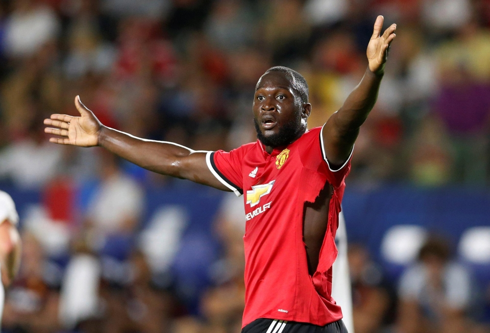 Romelu Lukaku is set to get his first taste of a Manchester derby in Houston
