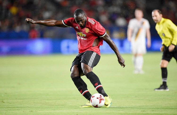 What happened to your kit Romelu?