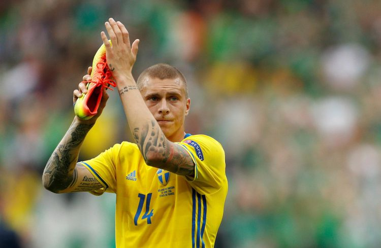 Lindelof has already made 12 appearances for Sweden