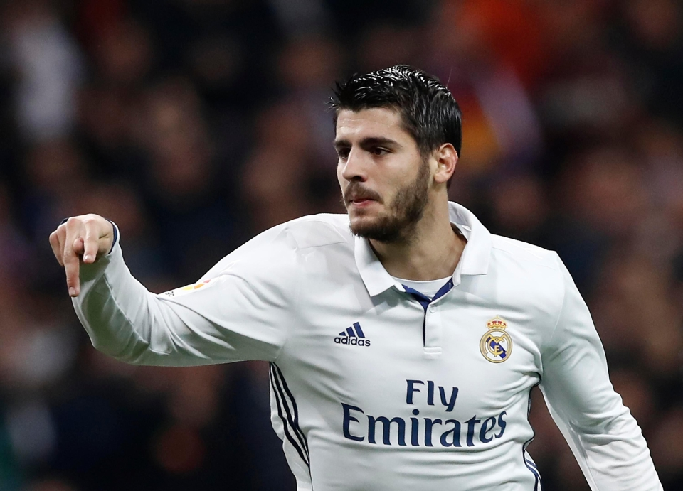 Gerry Armstrong says Alvaro Morata is like a classic No9