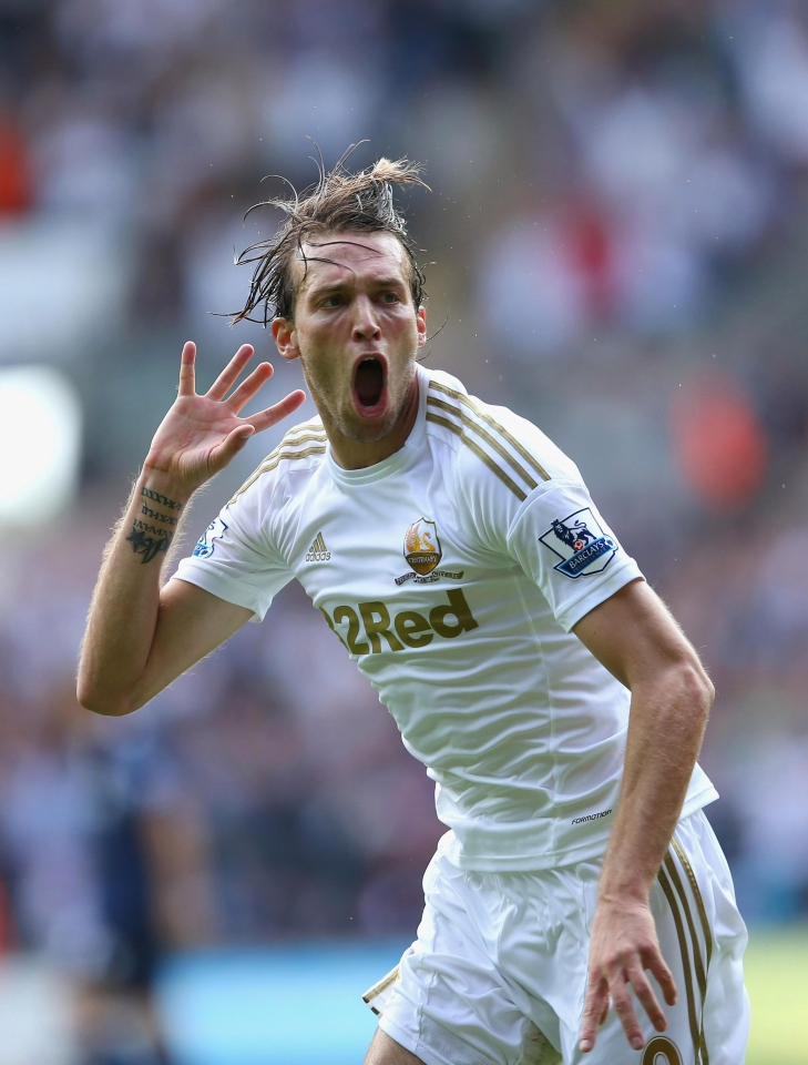 Swansea legend Michu was forced to call time on his career this week