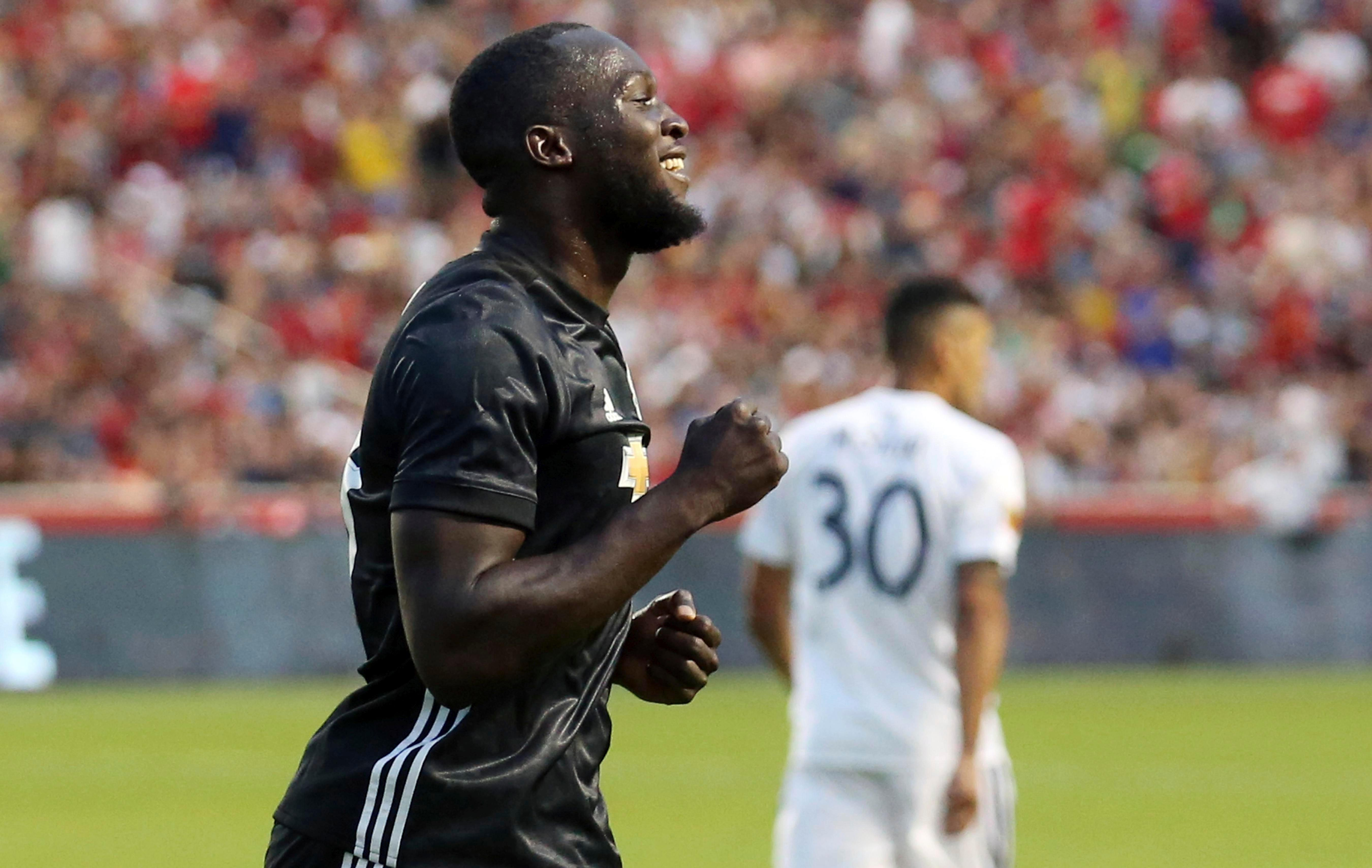 Romelu Lukaku will be hoping for a running start to life at Man United