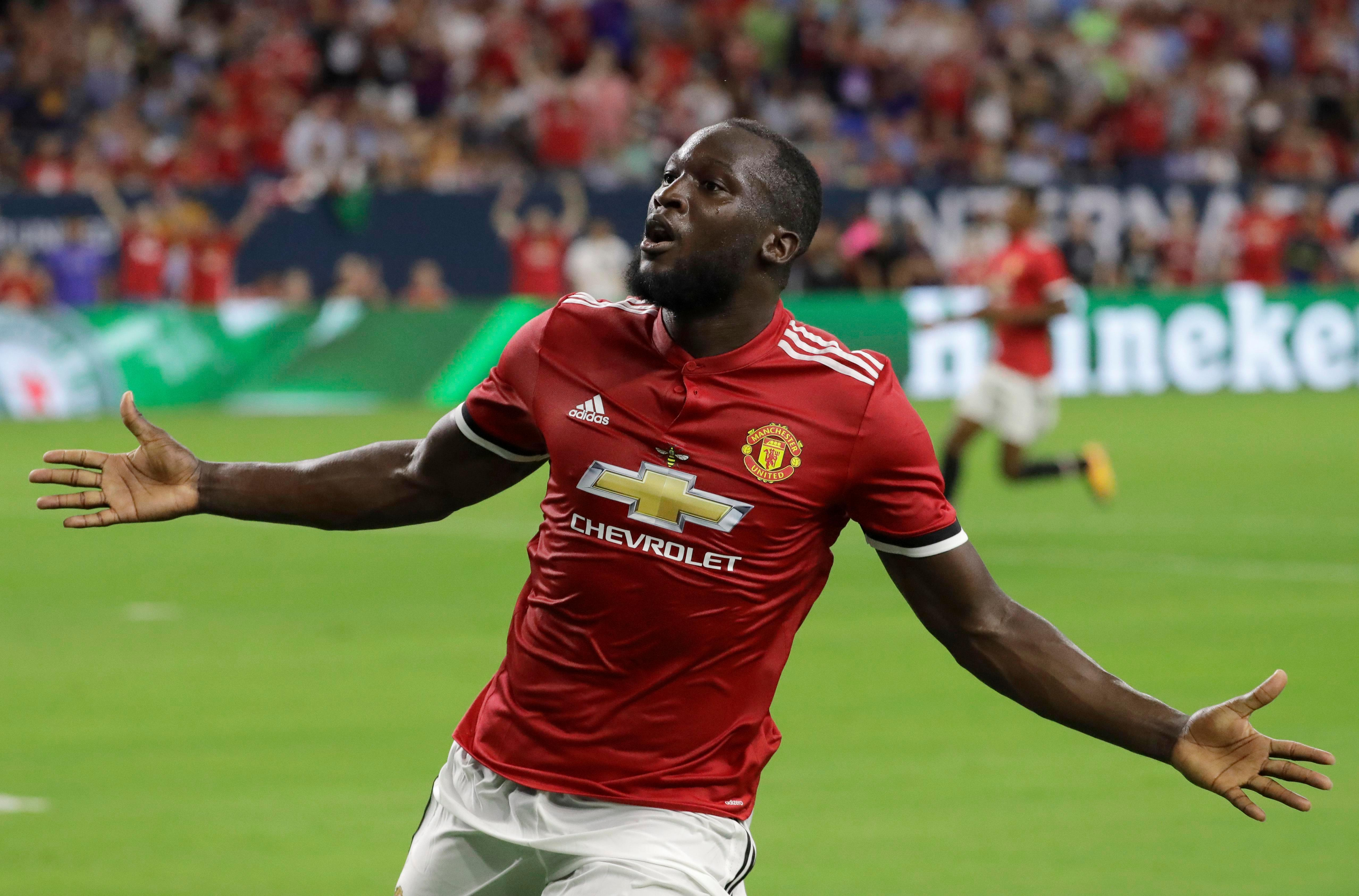 Lukaku was able to roll in his second United goal by the blunder