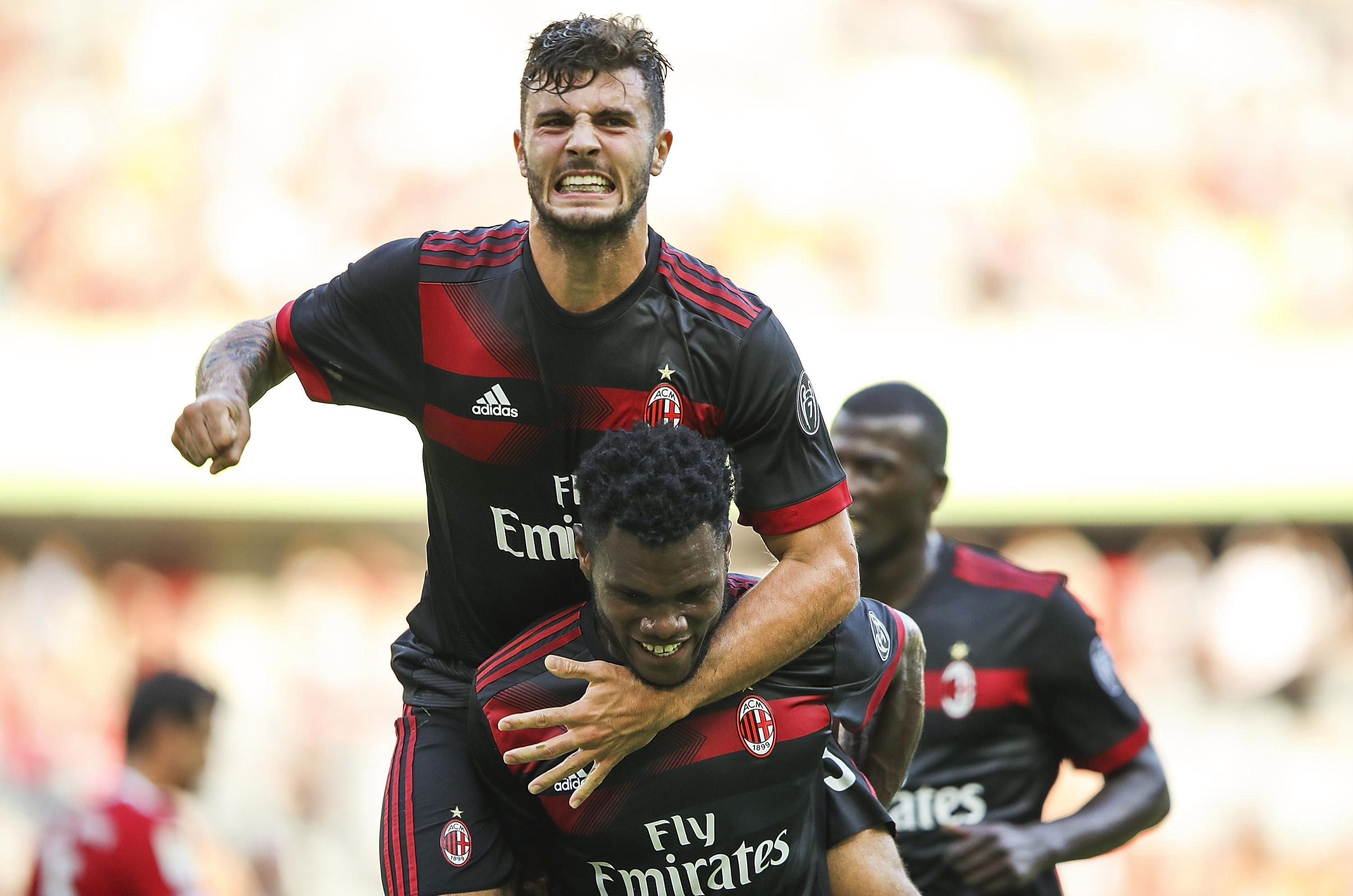 Patrick Cutrone and Franck Kessie left Bayern Munich shell-shocked