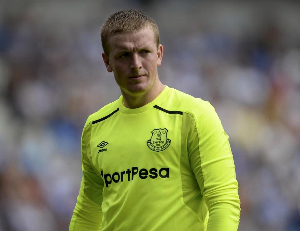 Jordan Pickford cost Everton £30million this summer