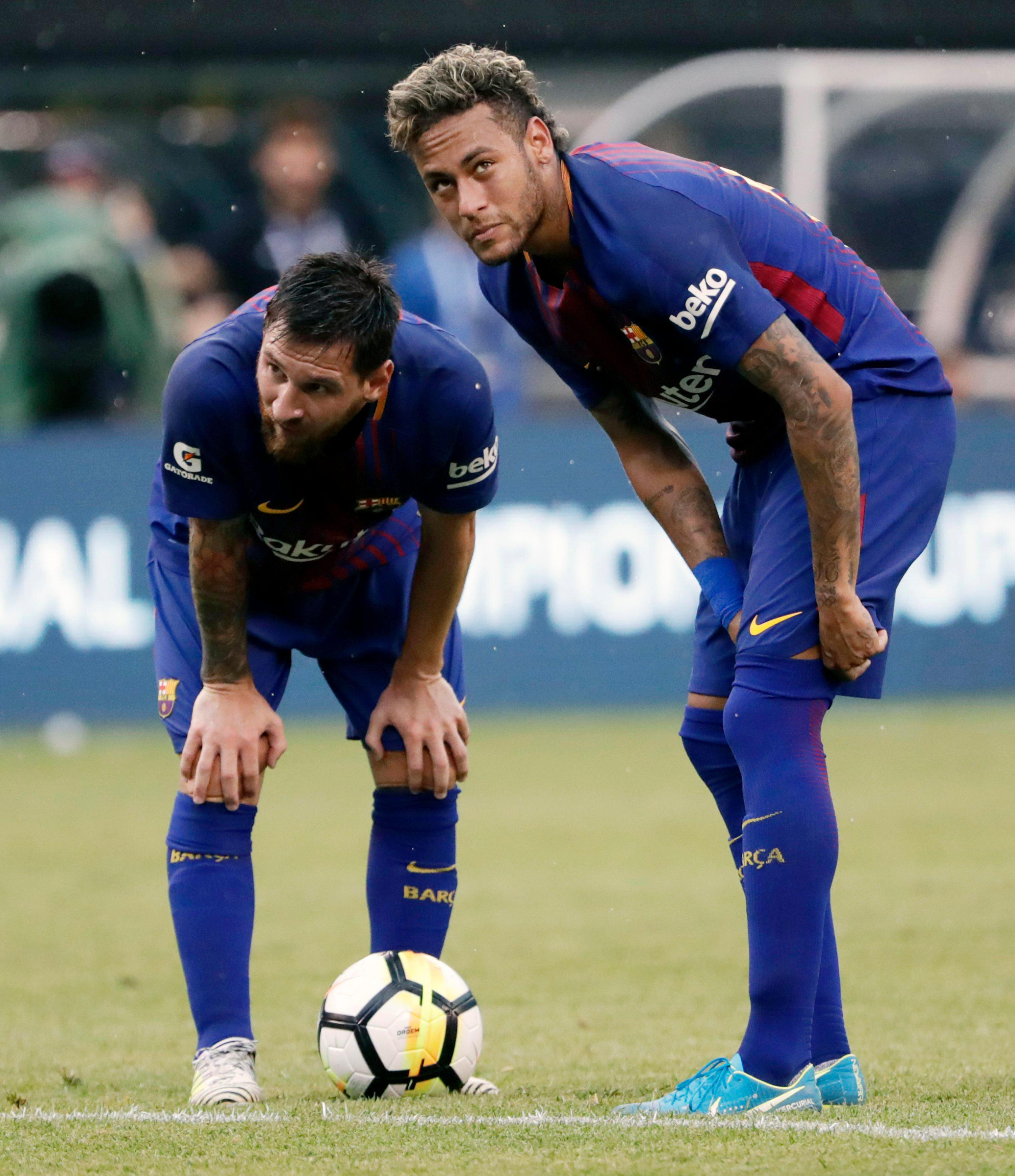 Neymar is looking to emerge from Lionel Messi's shadow with move