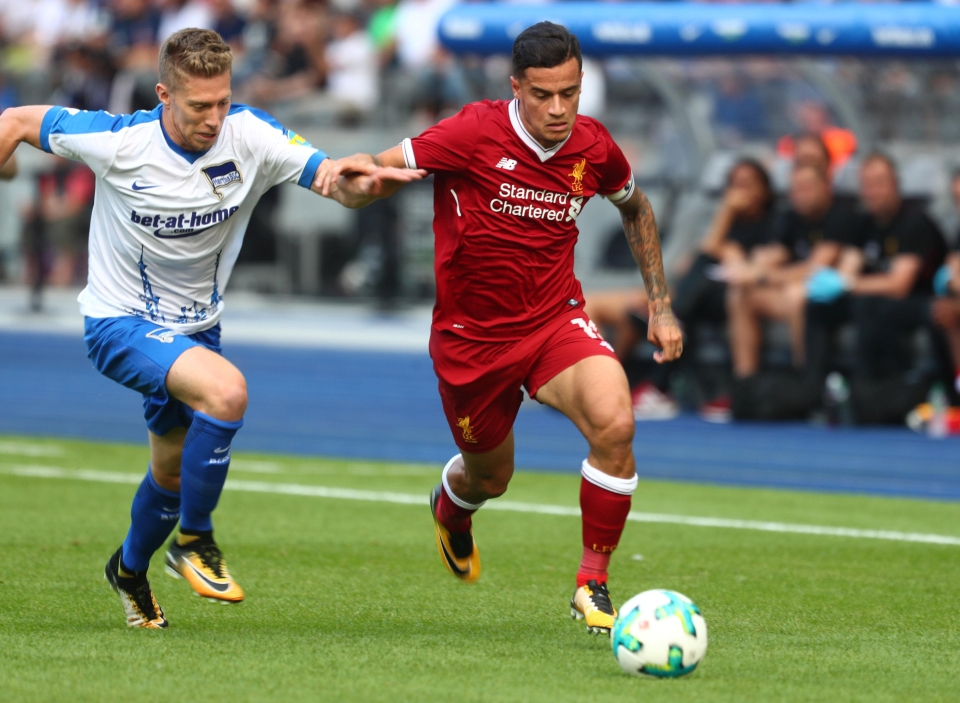 Coutinho was captain for the day