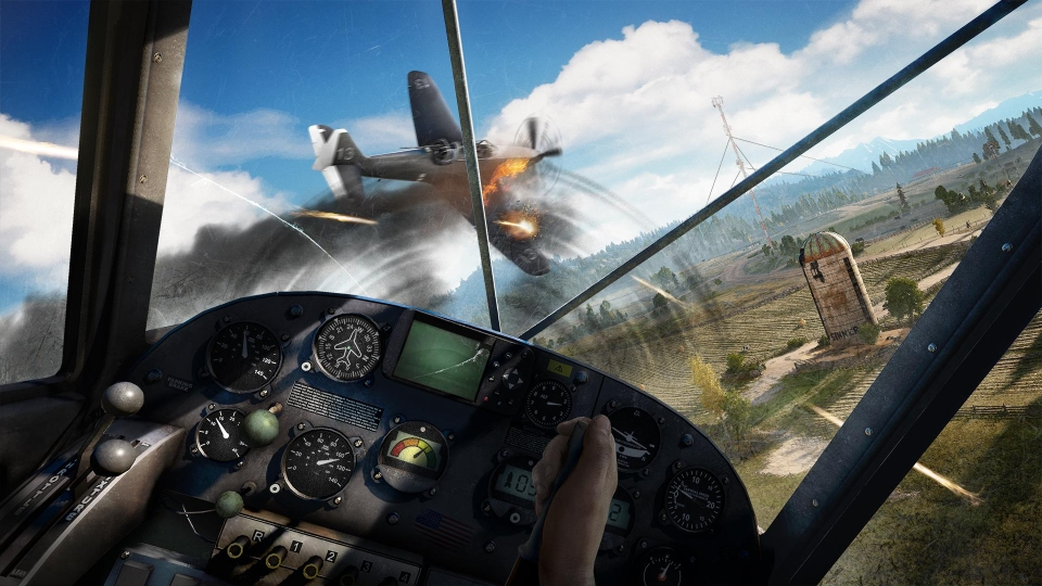 Planes are the big addition this year – with aerial combat proving to be as fun as it looks