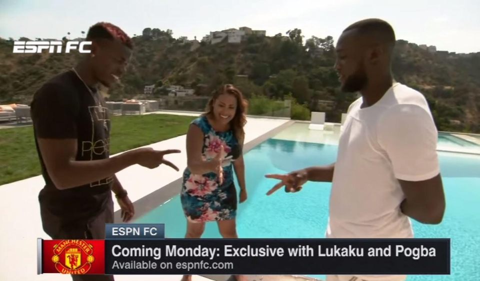 Pogba and Lukaku, obviously going for scissors here cos they cut through defences, right guys? Guys?