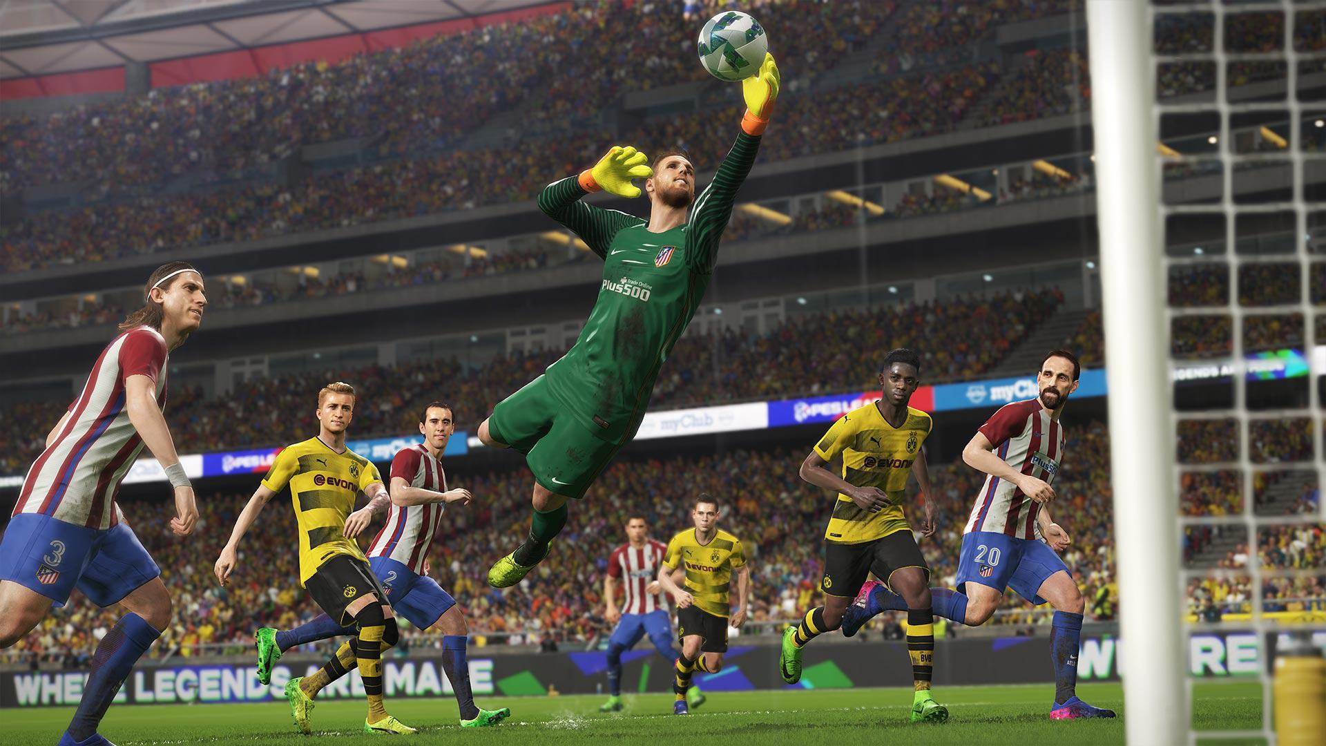 PES 2018 runs on the Fox Engine – which also powered the stunning Metal Gear Solid V