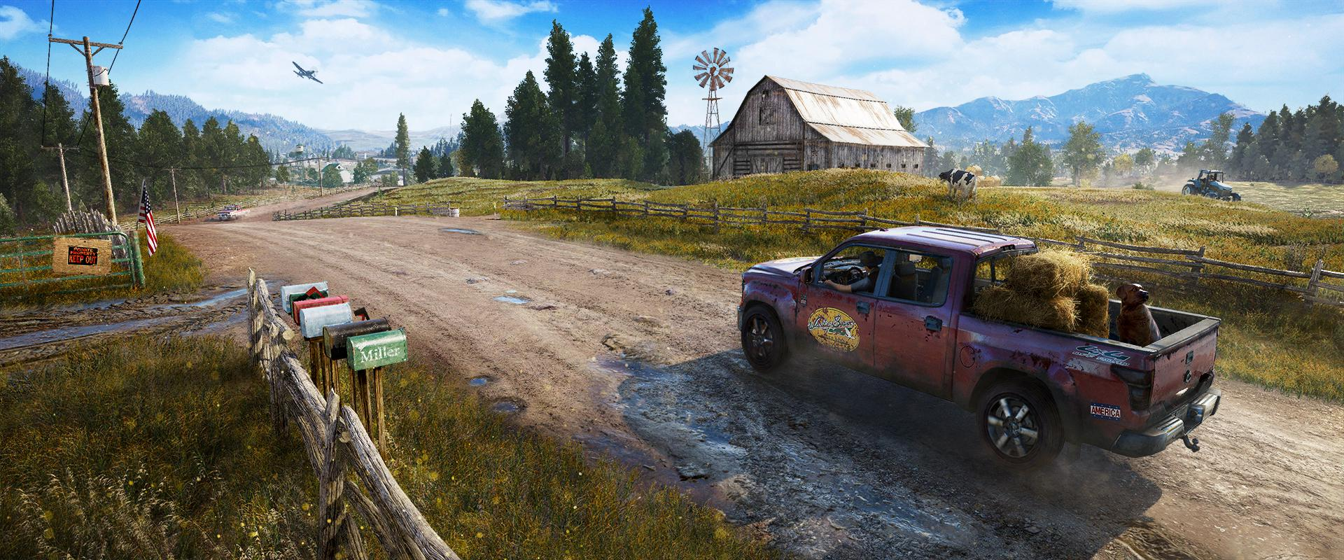 When not fighting you can get behind the wheel of any vehicle and explore the map