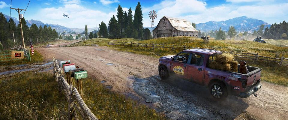 When not fighting you can get behind the wheel of any vehicle and explore the map – the largest so far in the series
