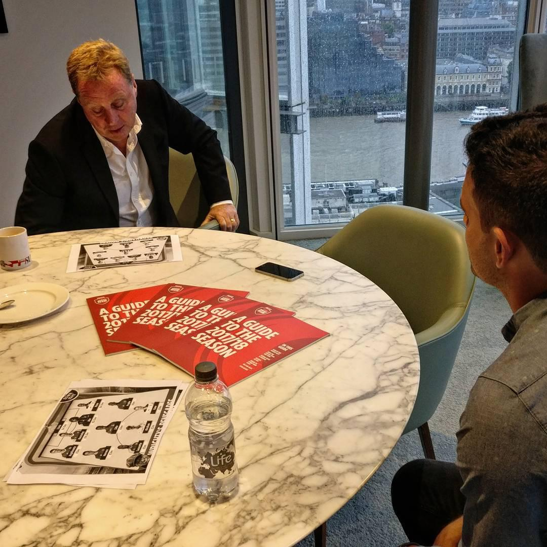 Harry Redknapp sat down with us at our live Q and A ahead of the new season