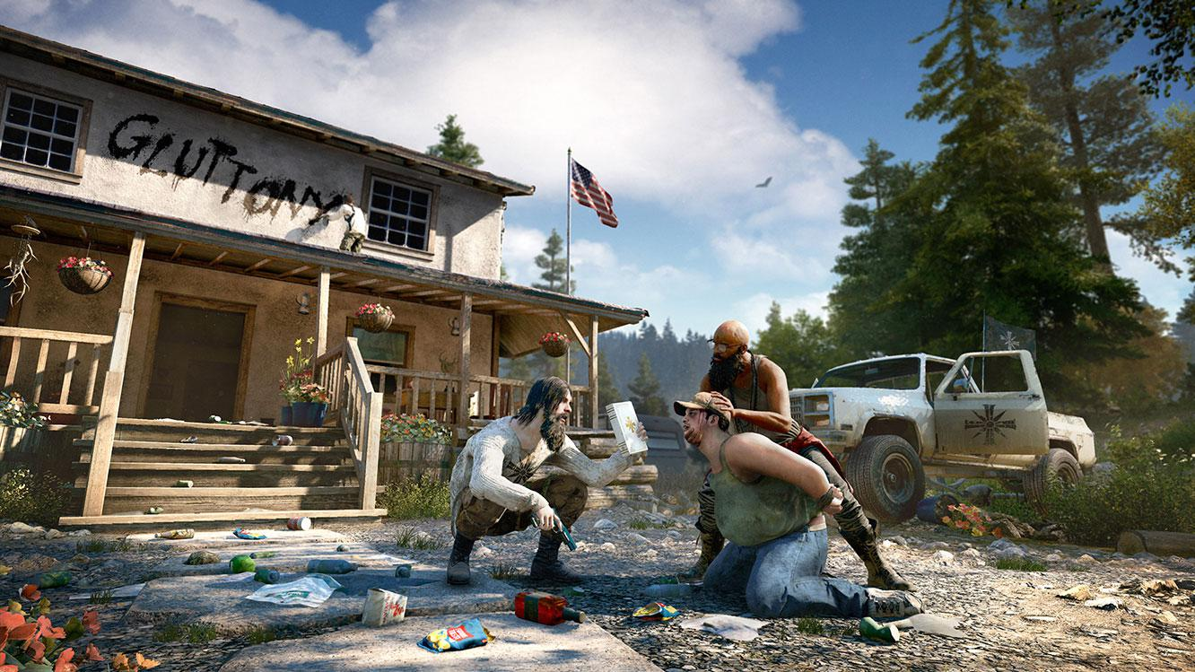Hope County has been overrun by violent thugs - your job is to kill them all