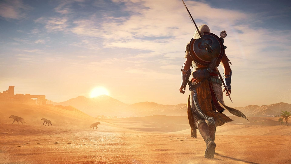 Origins is shaping up to be the AC game we've been waiting for