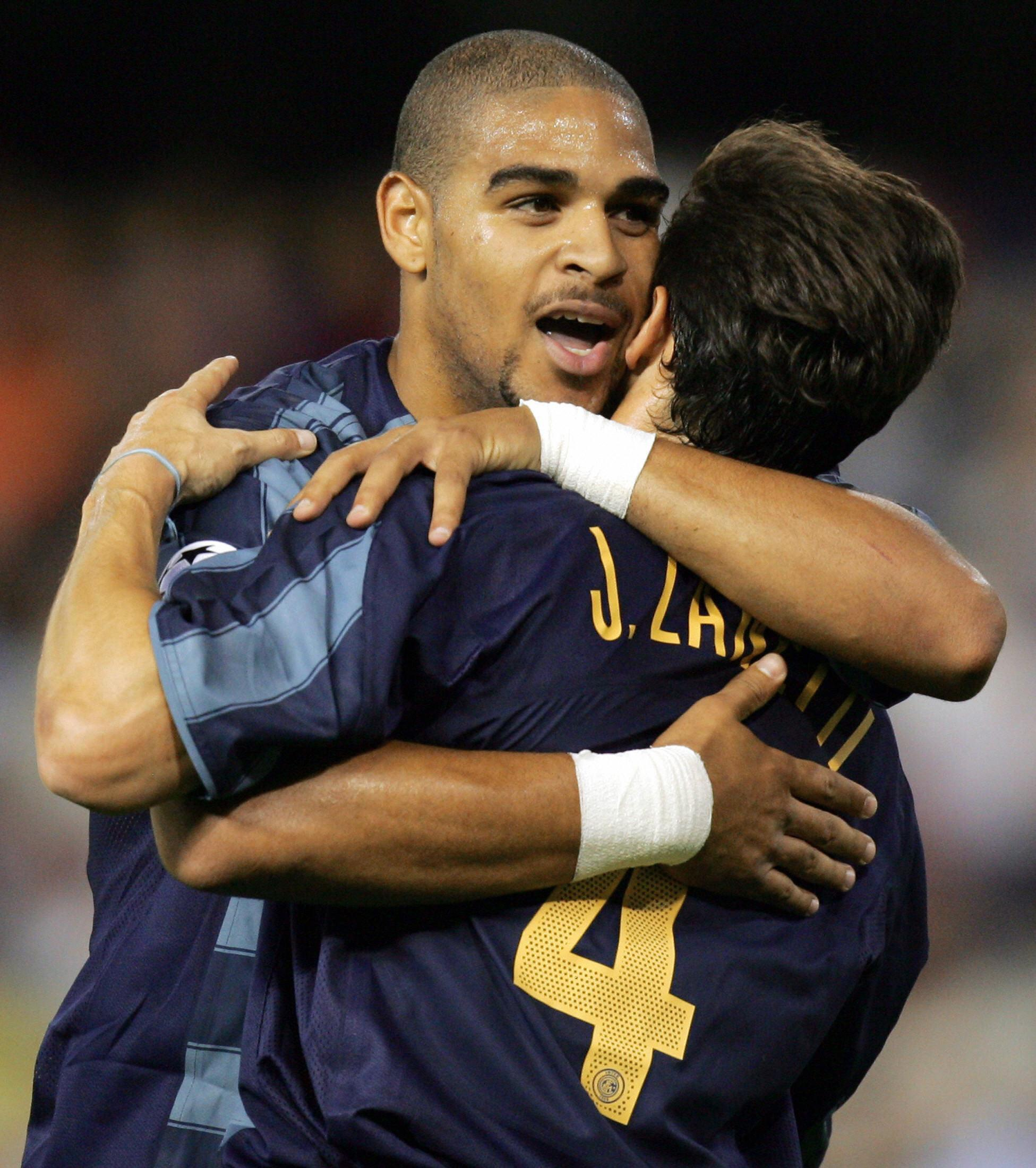 Zanetti and Adriano were team-mates for six years