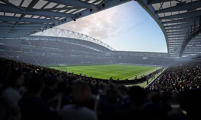 The Amex Stadium is a new addition to the game this year